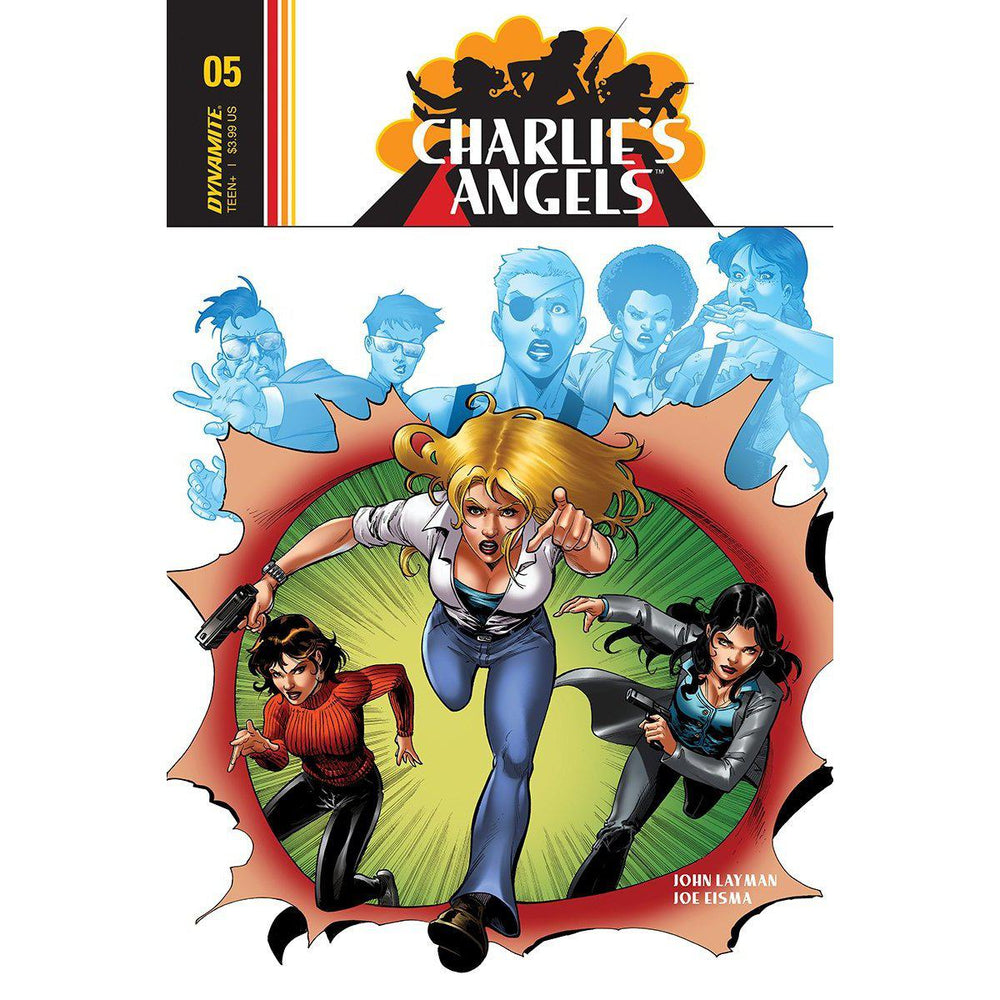 Charlies Angels #5 Cvr A Cifuentes-Georgetown Comics