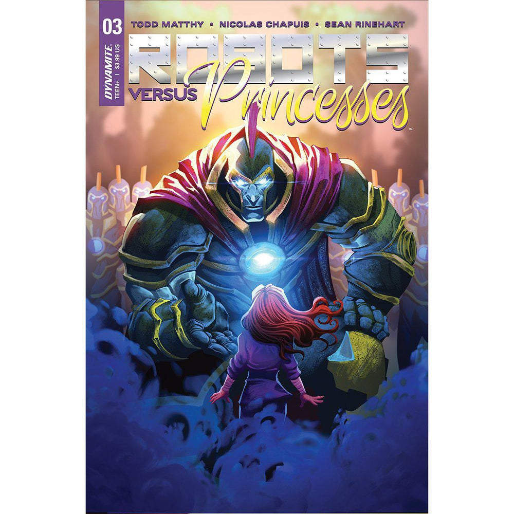 Robots Vs Princesses #3 Cvr A Chapuis-Georgetown Comics