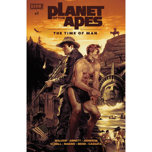 Planet Of The Apes Time Of Man #1 Main-Georgetown Comics