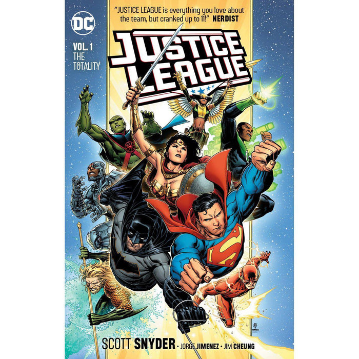 Justice League TP Vol 01 The Totality TP-Georgetown Comics