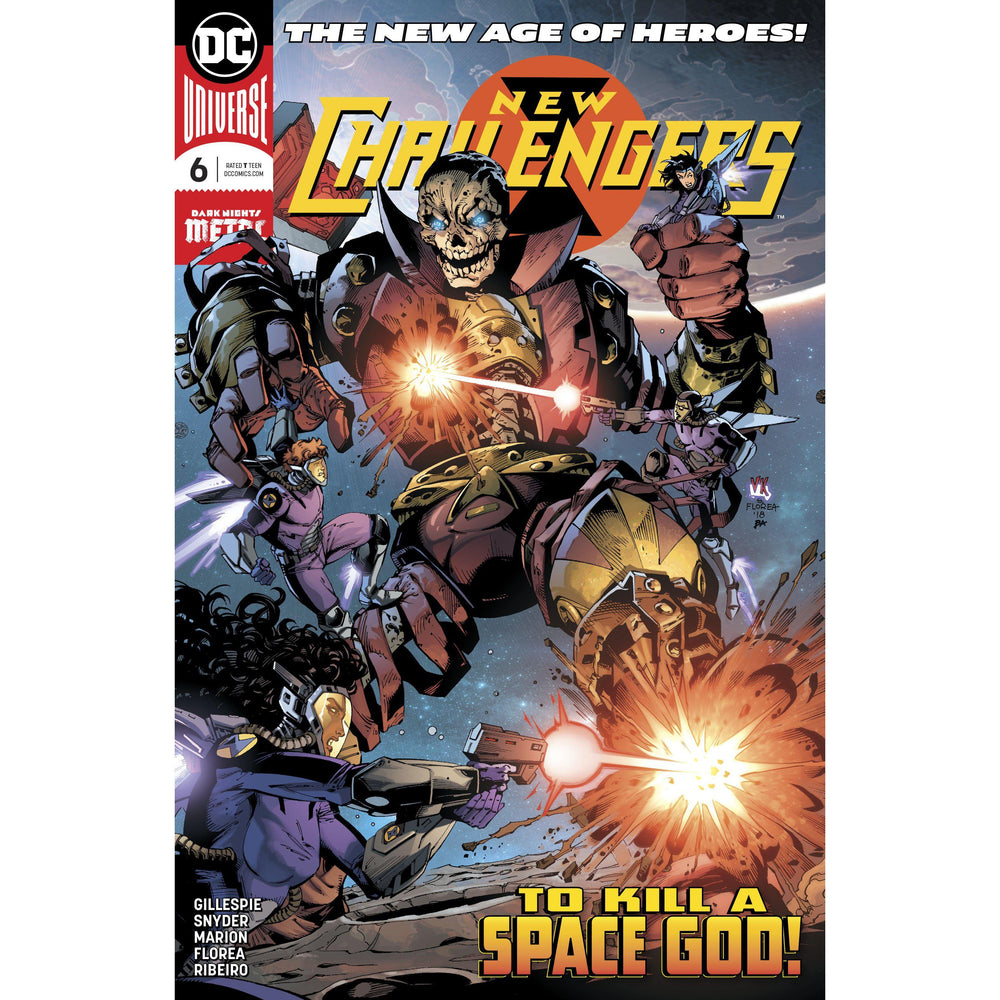 New Challengers #6 (Of 6)-Georgetown Comics
