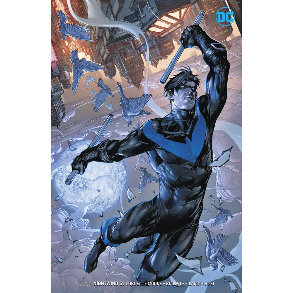 Nightwing #51 Var Ed-Georgetown Comics
