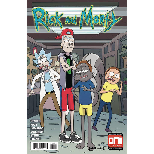 Rick & Morty #43 Cvr A-Georgetown Comics