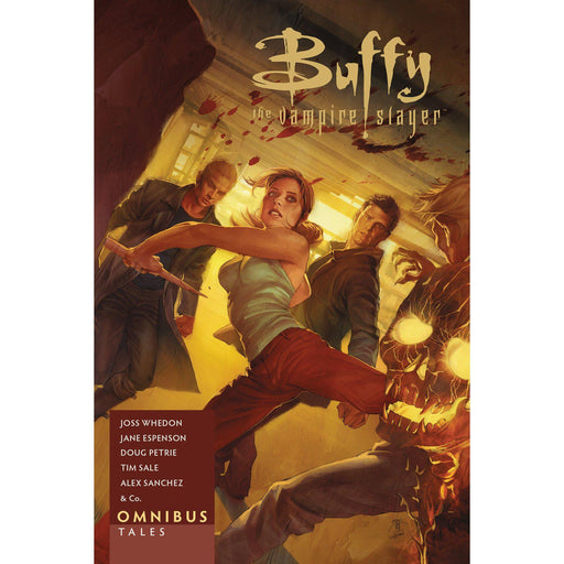 Buffy The Vampire Slayer Omnibus Tales TP (C: 0-1-2)-Georgetown Comics