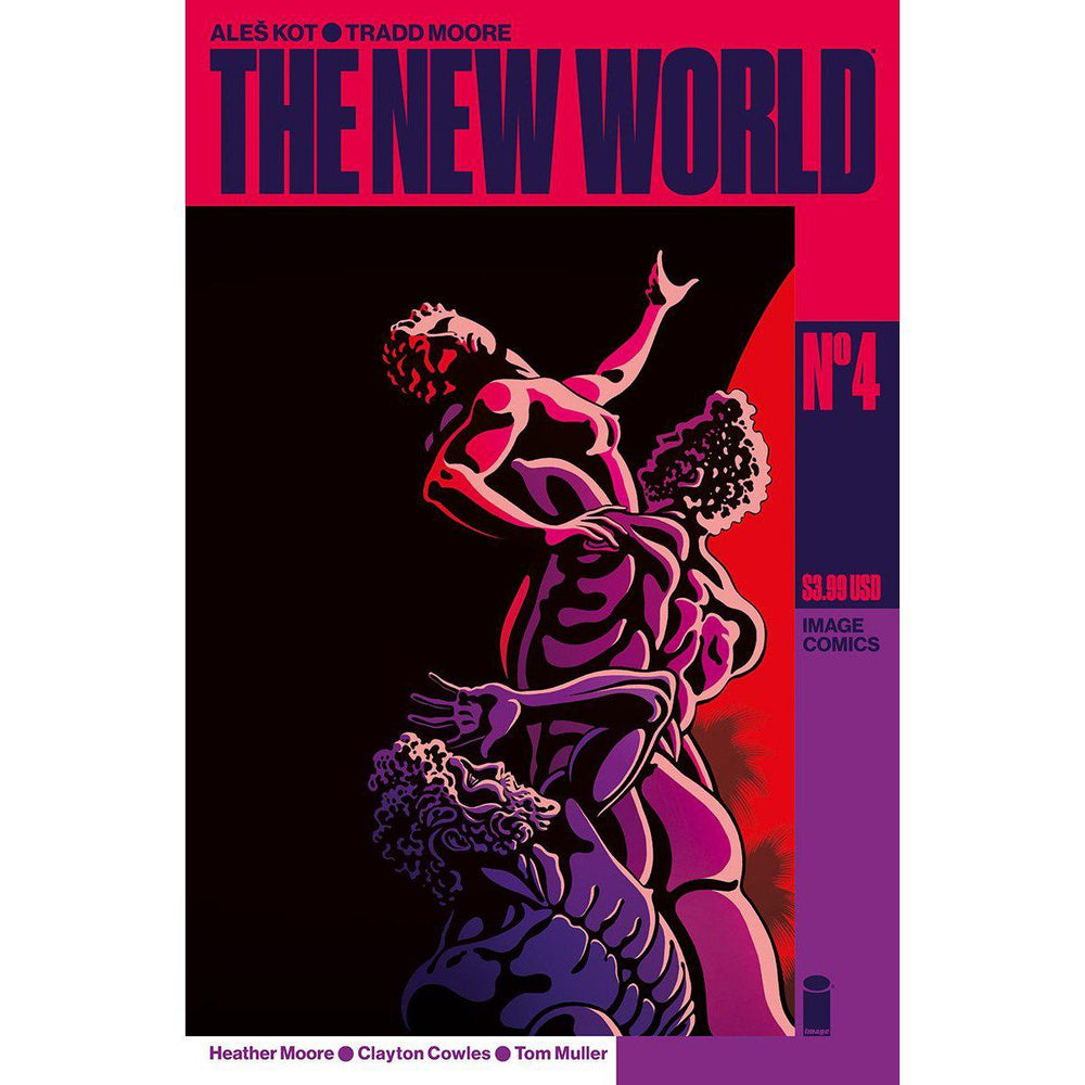 New World #4 (Of 5) Cvr A Moore & Muller (MR)-Georgetown Comics