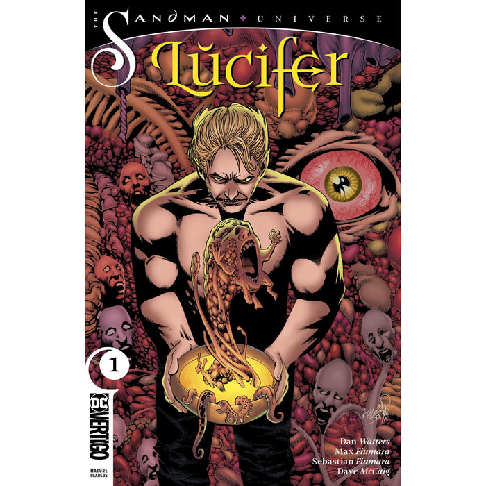 Lucifer #1 Var Ed (MR)-Georgetown Comics