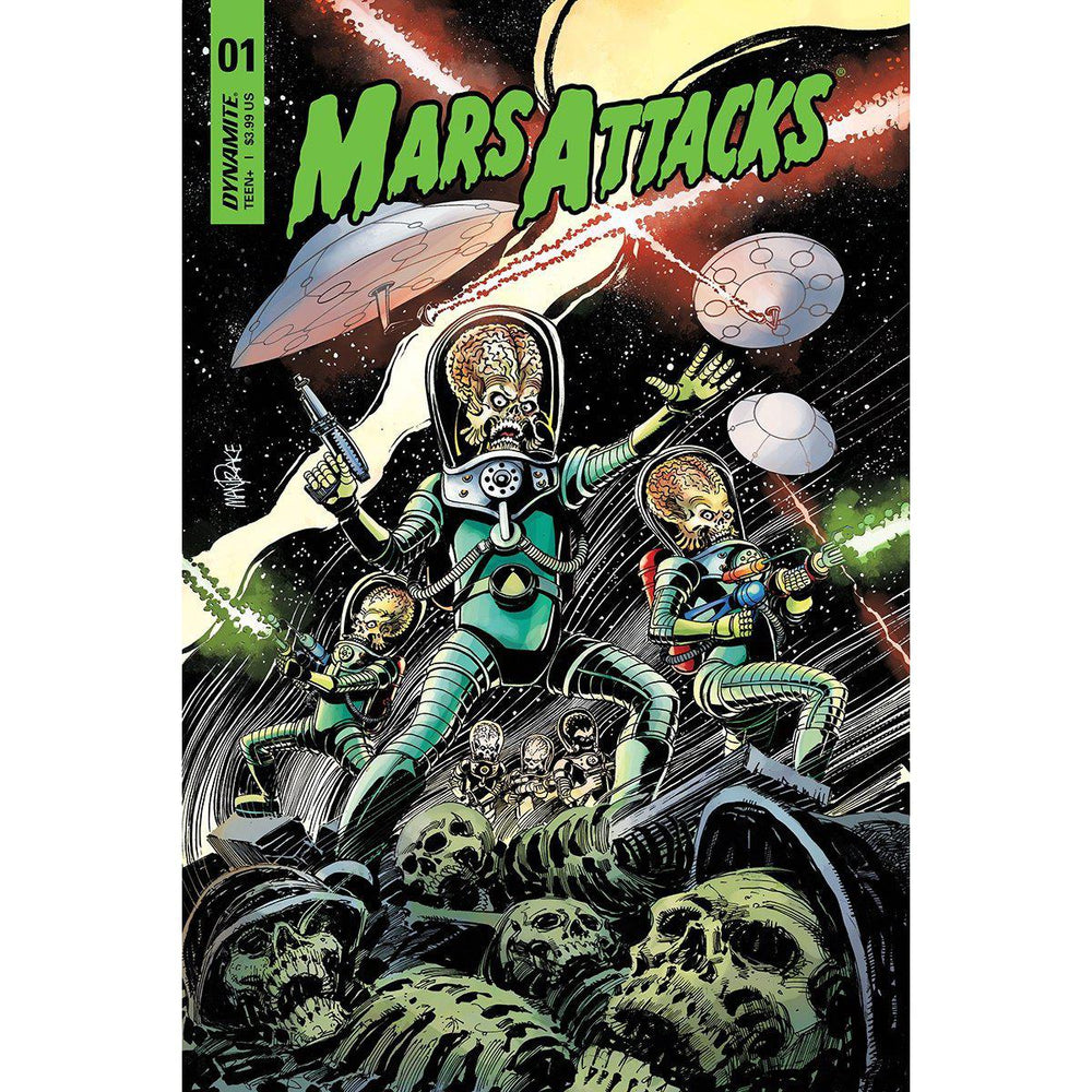 Mars Attacks #1 Cvr A Mandrake-Georgetown Comics