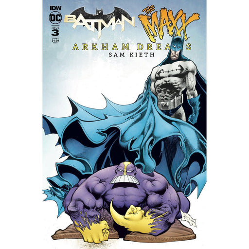 Batman The Maxx Arkham Dreams #3 (Of 5) Cvr B Kieth-Georgetown Comics