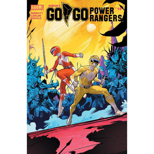 Go Go Power Rangers #14 Main & Mix Sg-Georgetown Comics