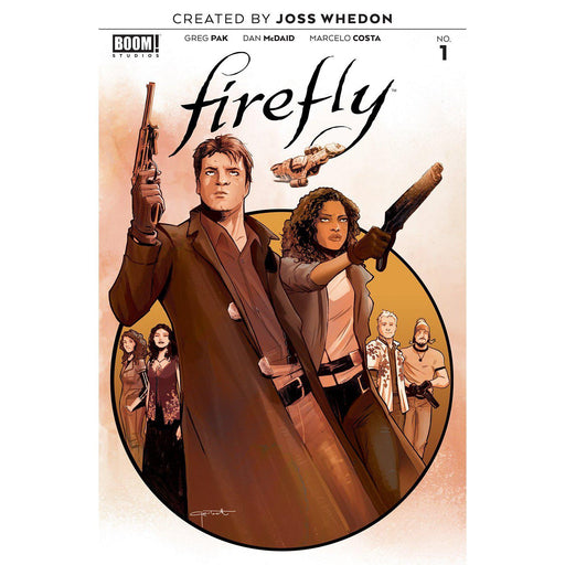 Firefly #1 Main-Georgetown Comics
