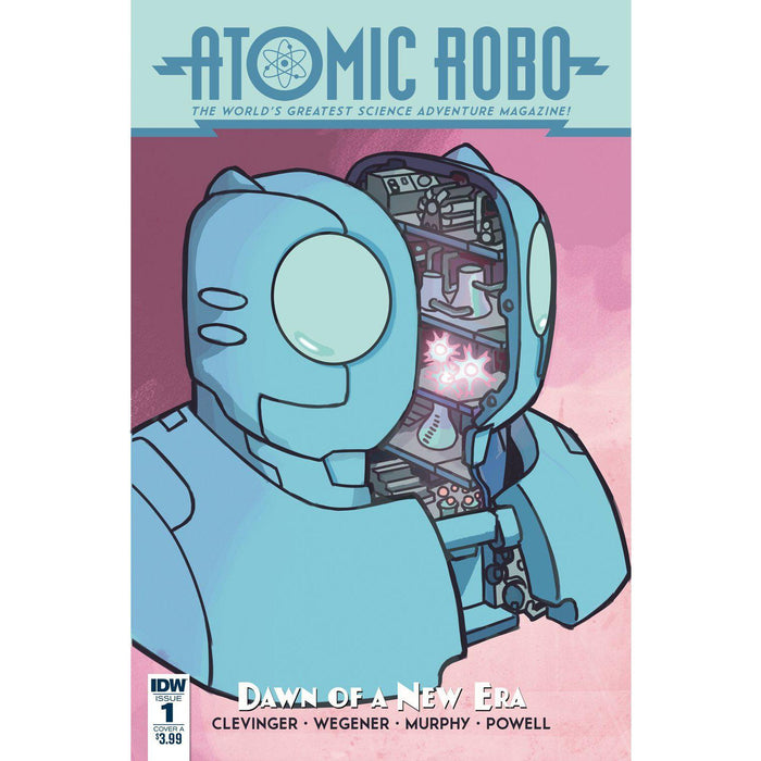 Atomic Robo & Dawn Of New Era #1 (Of 5) Cvr A Wegener-Georgetown Comics