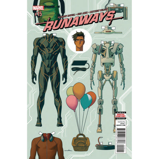 Runaways #15-Georgetown Comics