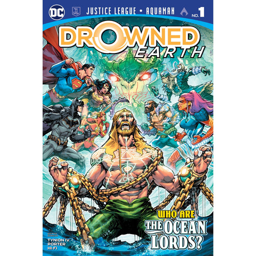 Justice League Aquaman Drowned Earth #1-Georgetown Comics