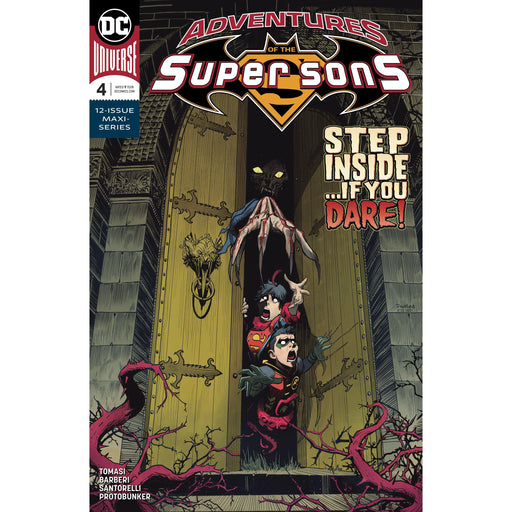 Adventures Of The Super Sons #4 (Of 12)-Georgetown Comics