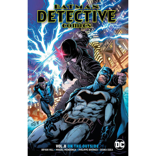Batman Detective Comics TP Vol 08 On The Outside-Georgetown Comics