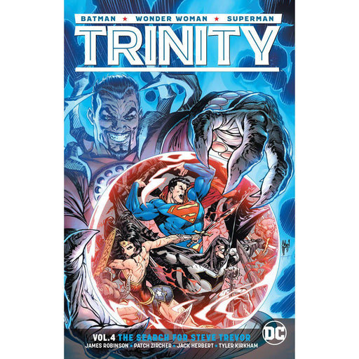 Trinity TP Vol 04 The Search For Steve Trevor-Georgetown Comics