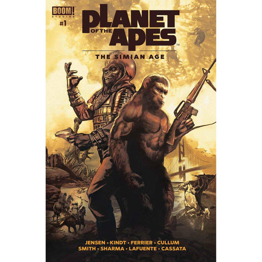 Planet Of Apes Simian Age #1 Main-Georgetown Comics