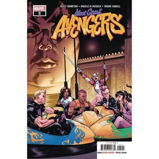 West Coast Avengers #5-Georgetown Comics
