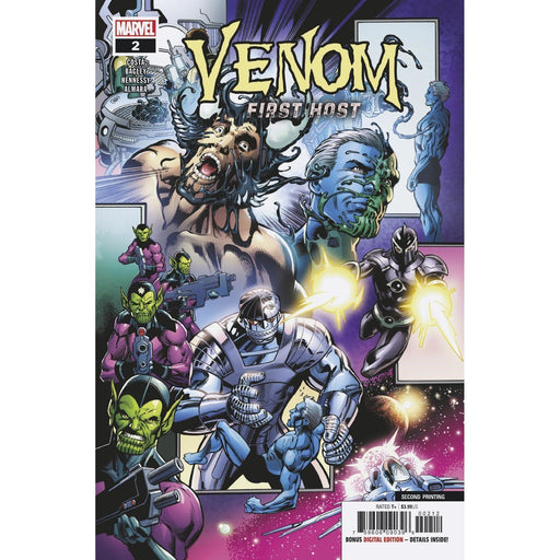 Venom First Host #2 (Of 5) 2nd Ptg Bagley Var-Georgetown Comics