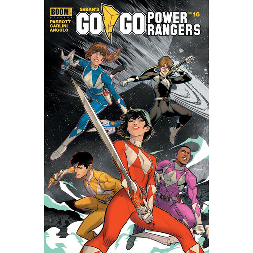 Go Go Power Rangers #16 Main & Mix-Georgetown Comics
