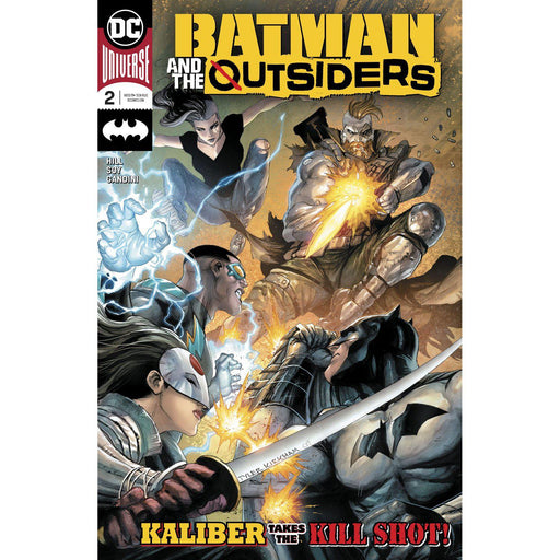 Batman And The Outsiders #2-Georgetown Comics