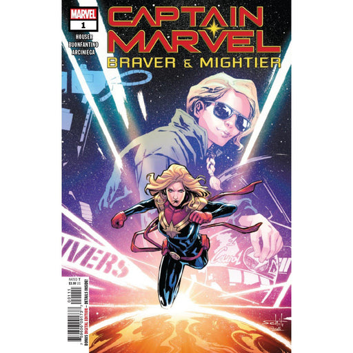 Captain Marvel Braver & Mightier #1-Georgetown Comics
