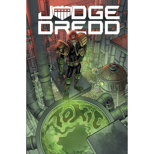 Judge Dredd Toxic TP-Georgetown Comics
