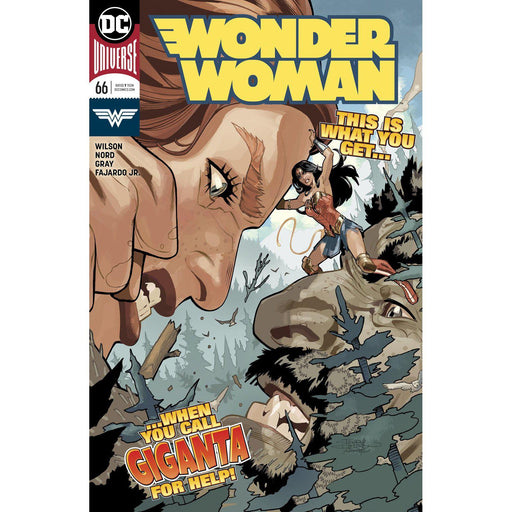 Wonder Woman #66-Georgetown Comics