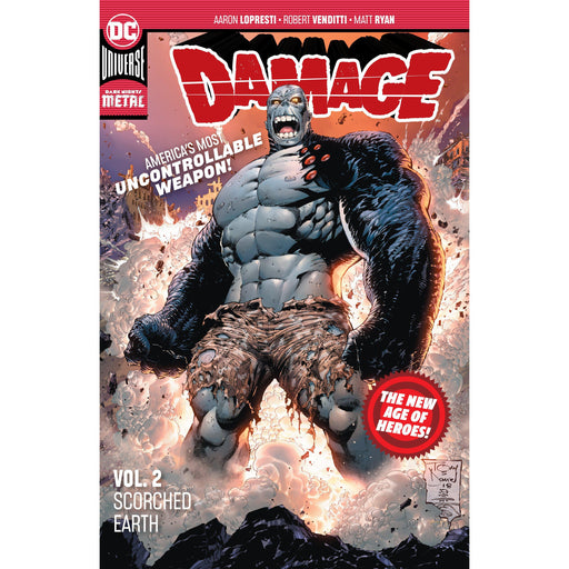 Damage TP Vol 02 Scorched Earth-Georgetown Comics