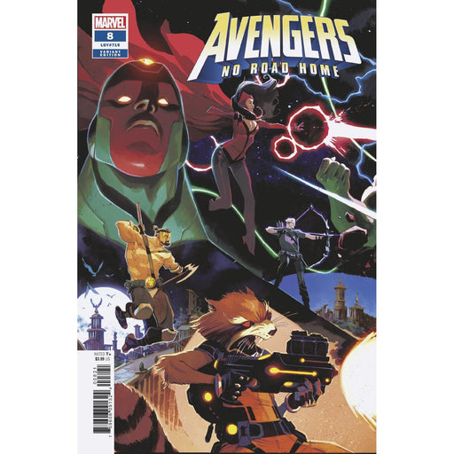 Avengers No Road Home #8 (Of 10) Scalera Connecting Var-Georgetown Comics