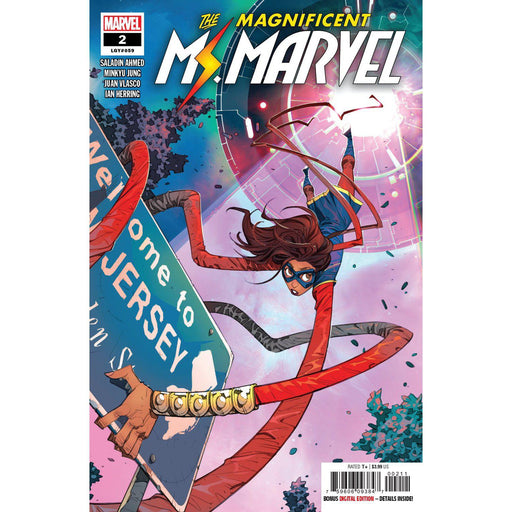 Magnificent Ms Marvel #2-Georgetown Comics