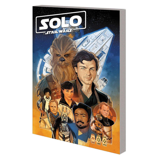 Solo TP Star Wars Story Adaptation-Georgetown Comics