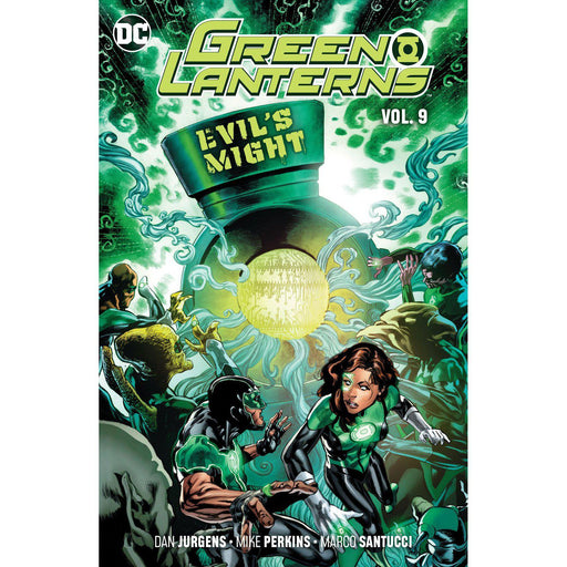 Green Lanterns TP Vol 09 Evils Might-Georgetown Comics