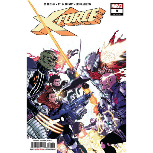 X-Force #8-Georgetown Comics