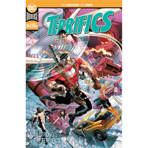 Terrifics TP Vol 02 Tom Strong And The Terrifics TP-Georgetown Comics