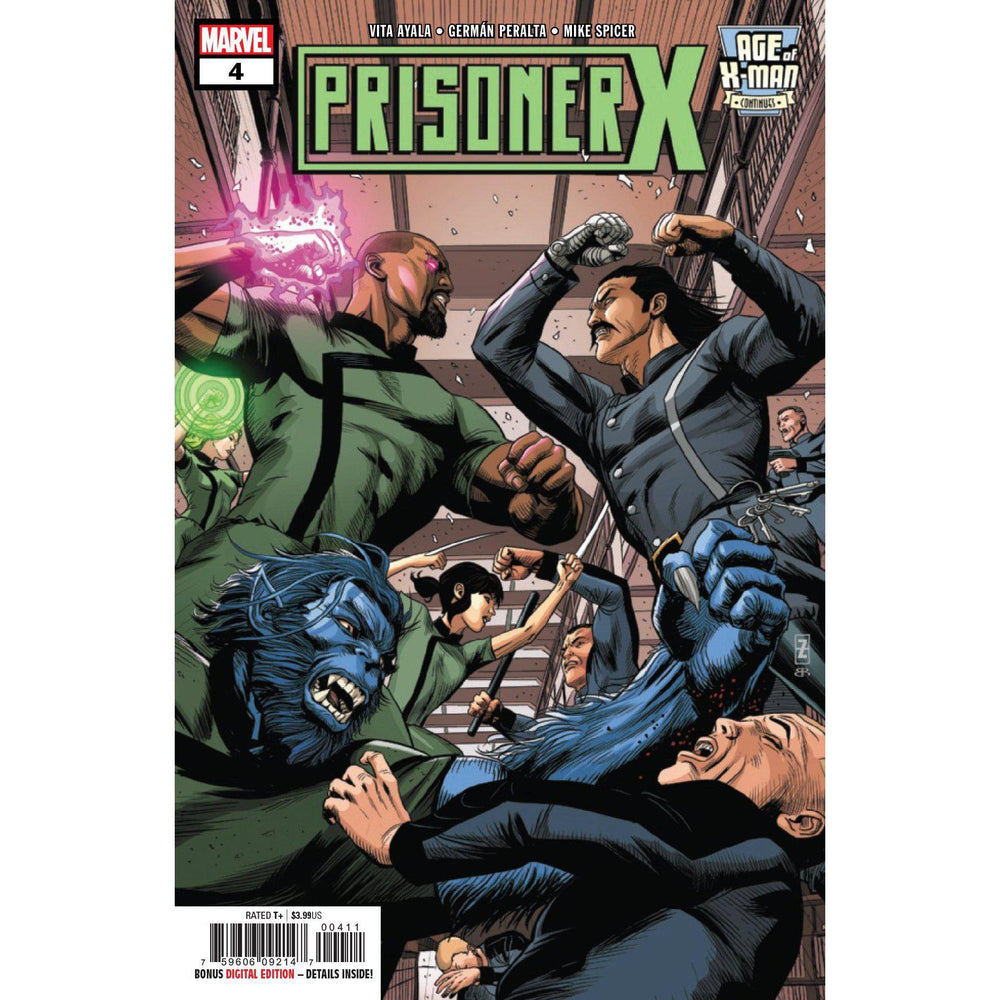 Age Of X-Man Prisoner X #4 (Of 5)-Georgetown Comics
