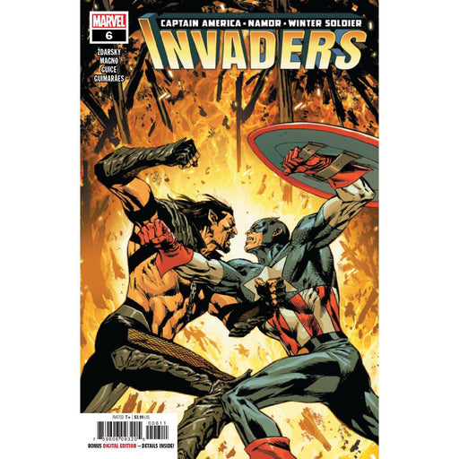Invaders #6-Georgetown Comics
