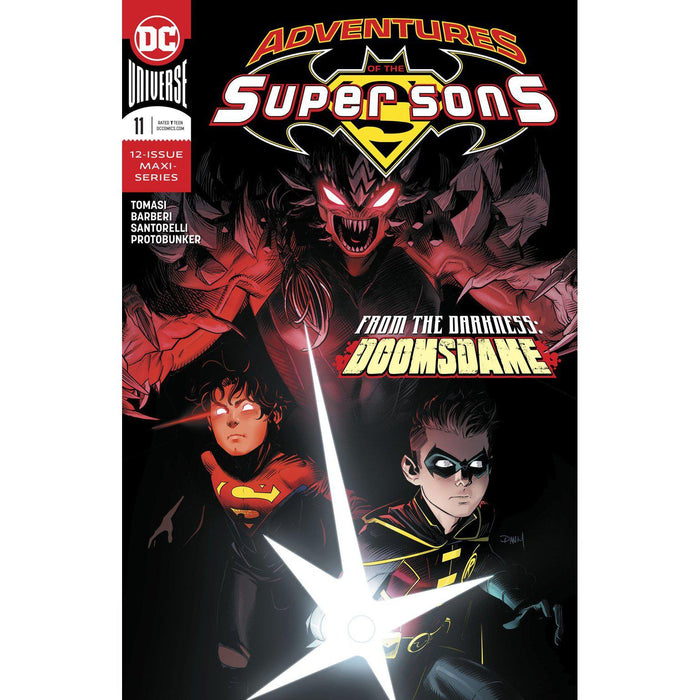 Adventures Of The Super Sons #11 (Of 12)-Georgetown Comics