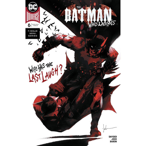 Batman Who Laughs #6 (Of 6) Var Ed-Georgetown Comics