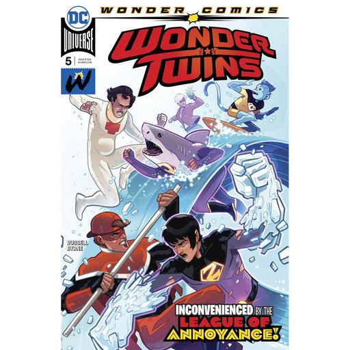 Wonder Twins #5 (Of 6)-Georgetown Comics