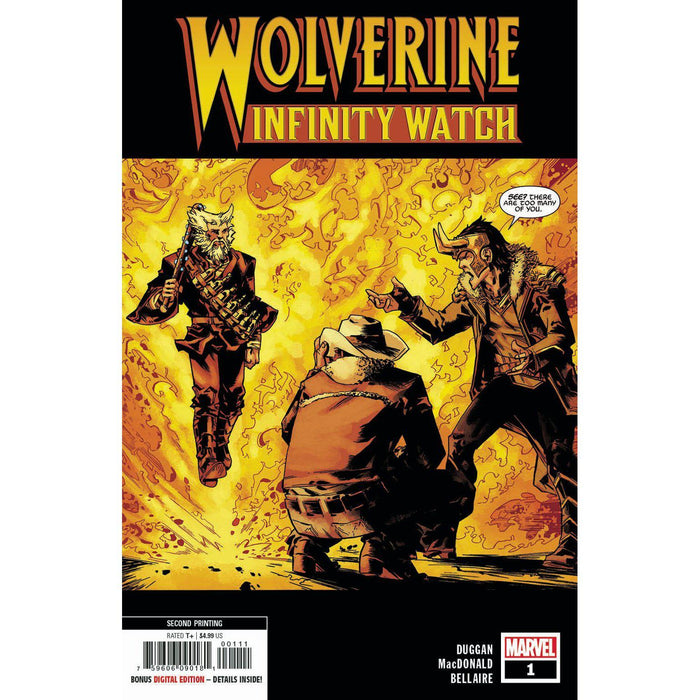 Wolverine Infinity Watch #1 (Of 5) 2nd Ptg Macdonald Var-Georgetown Comics