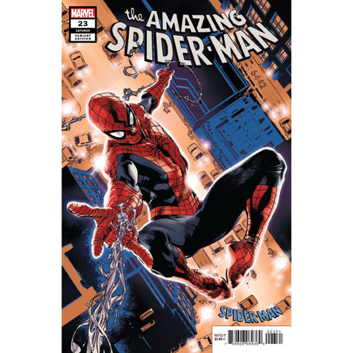 Amazing Spider-Man #23 Immonen Spider-Man Blue Red Suit Var-Georgetown Comics