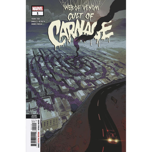 Web Of Venom Cult Of Carnage #1 2nd Ptg Beyruth Var-Georgetown Comics