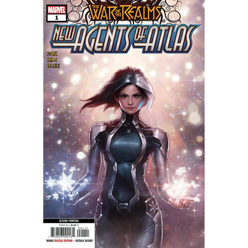 War Of Realms New Agents Of Atlas #1 (Of 4) 2nd Ptg Var-Georgetown Comics
