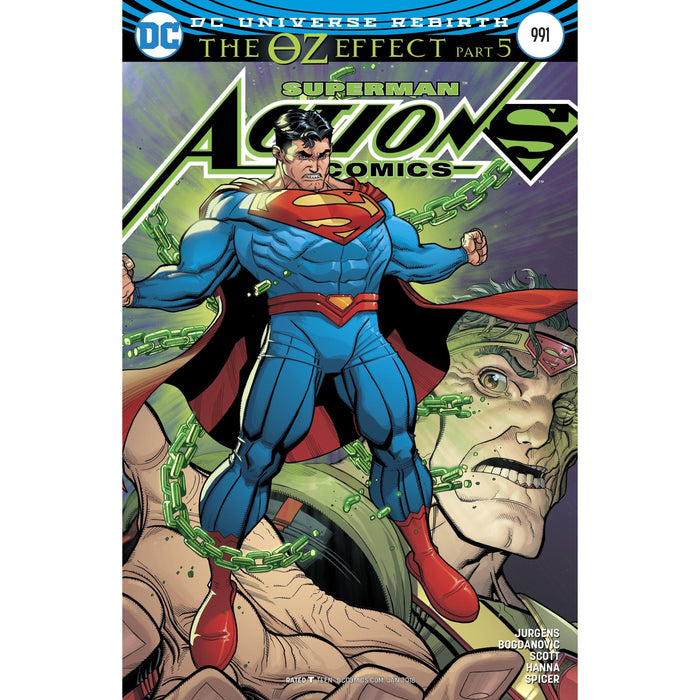 Action Comics #991 Lenticular Variant (Oz Effect)-Georgetown Comics