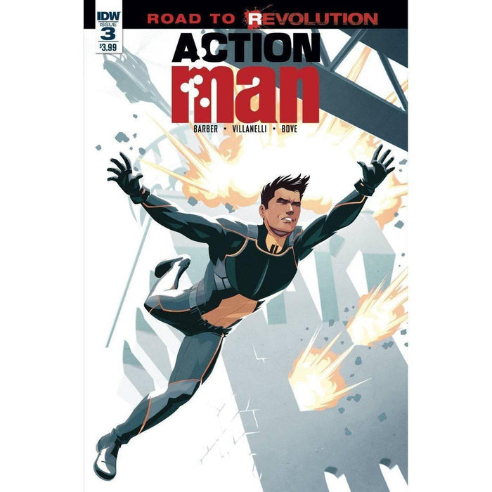 Action Man #3-Georgetown Comics