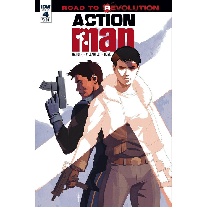 Action Man #4-Georgetown Comics