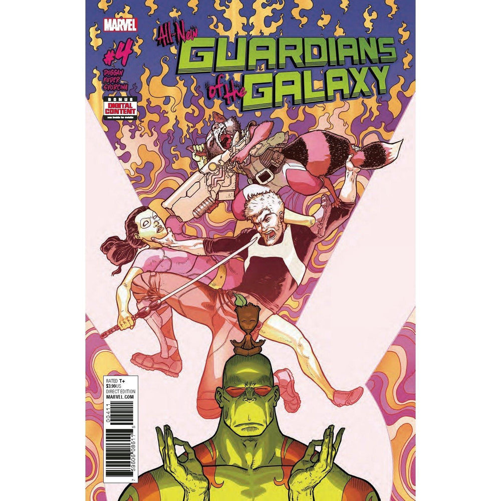 All New Guardians Of Galaxy #4-Georgetown Comics