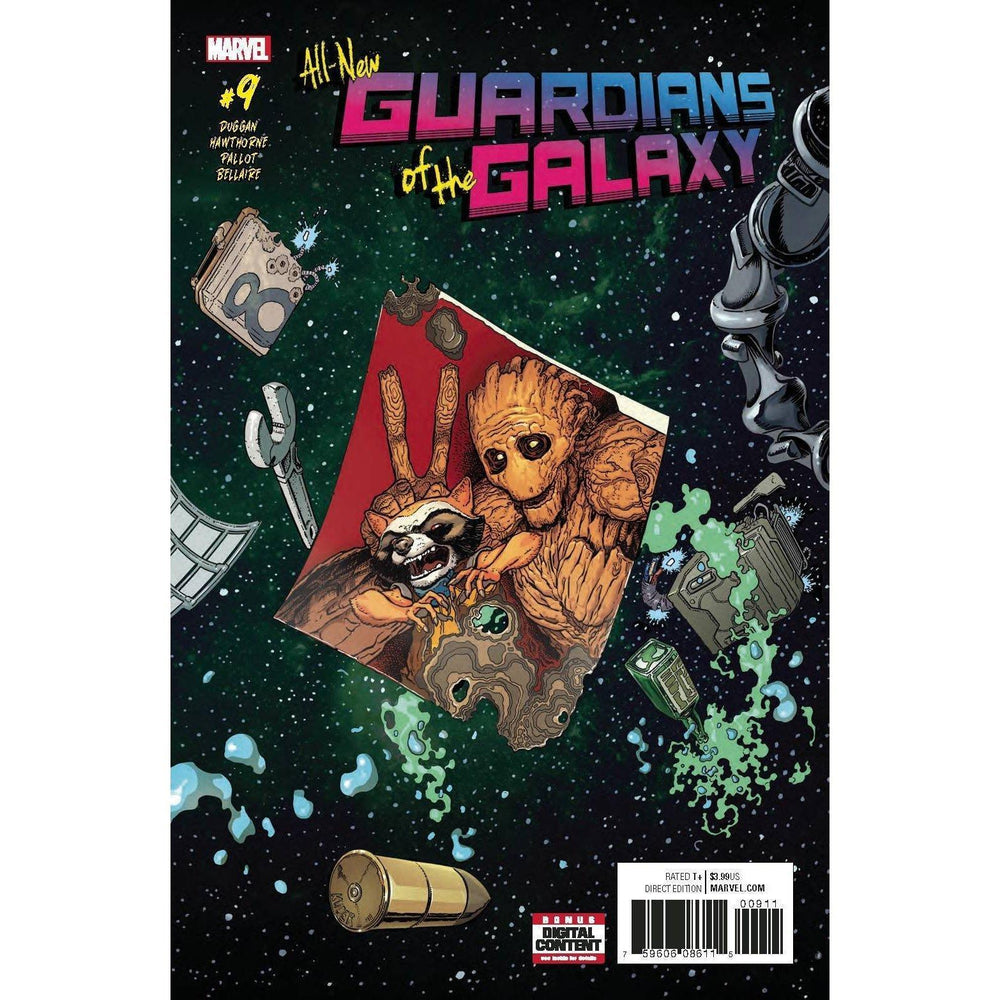 All New Guardians Of Galaxy #9-Georgetown Comics
