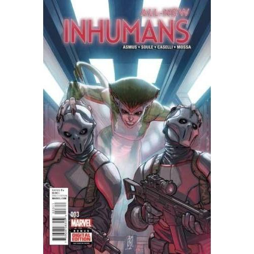 All-New Inhumans #3-Georgetown Comics